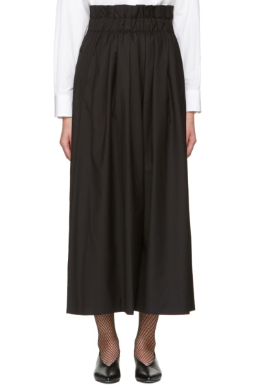 Noir Kei Ninomiya - Black Gathered Trousers