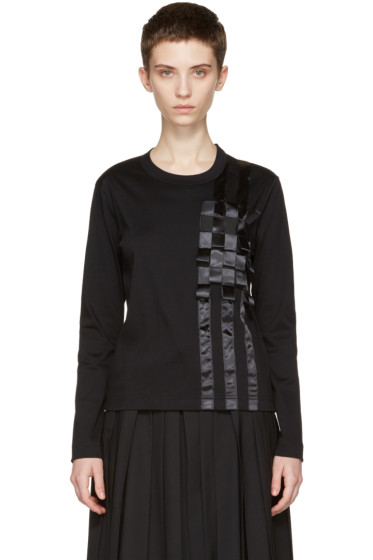 Noir Kei Ninomiya - Black Tape T-Shirt