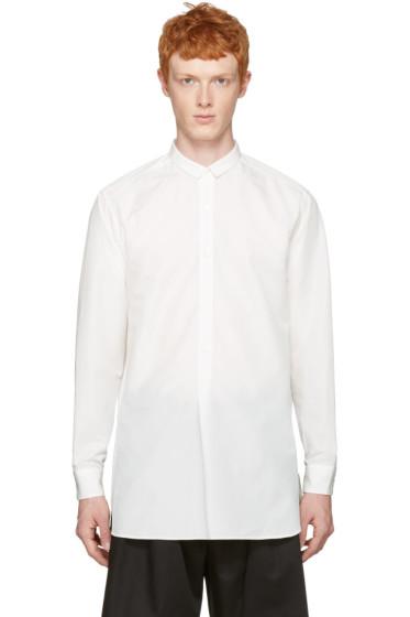 Toga Virilis - ホワイト ロング シャツ