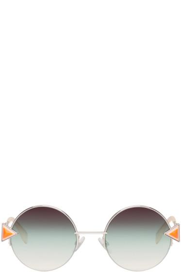 Fendi - Silver Rainbow Sunglasses