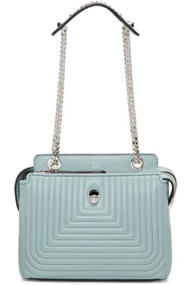 Fendi - Blue Small Dotcom Click Bag