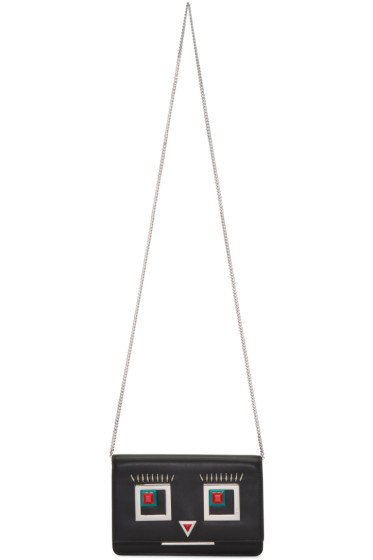 Fendi - Black Tube Wallet Shoulder Bag