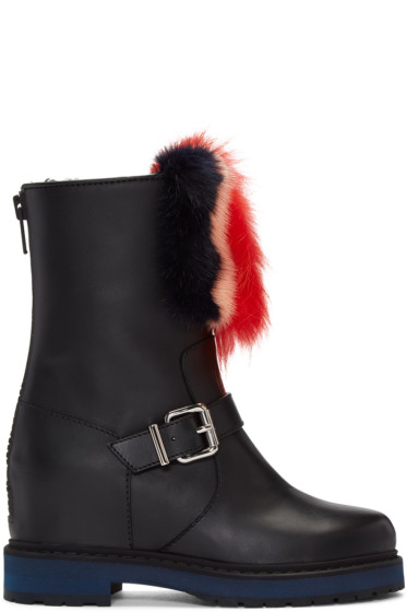 Fendi - Black Caroline Boots