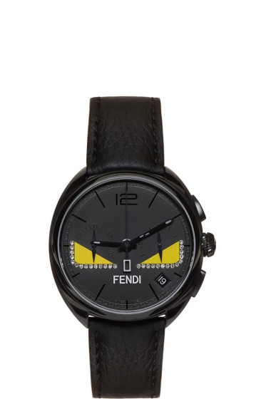 Fendi - Black Diamond Momento Bugs Watch