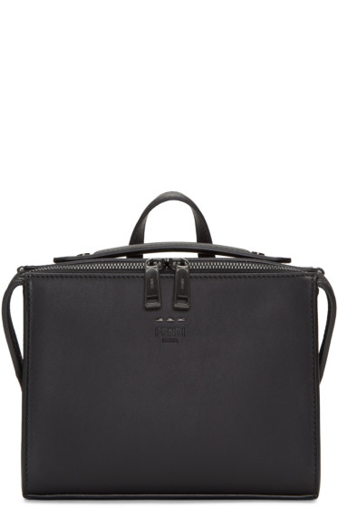 Fendi - Black Mini Messenger Bag