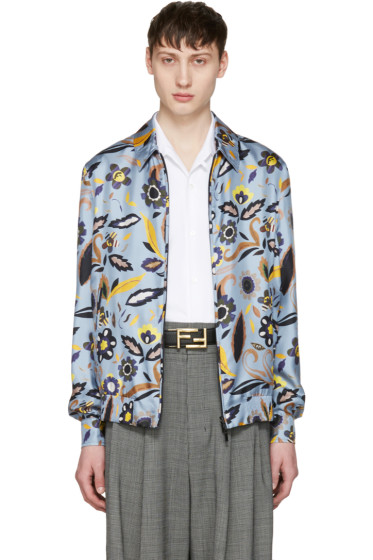 Fendi - Blue Flower Jacket