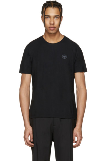 Fendi - Black 'Fendi Bubble' T-Shirt
