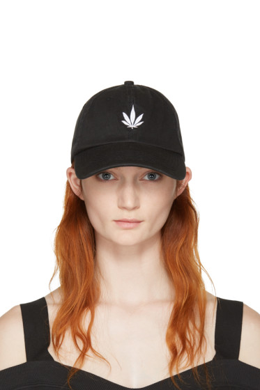 Palm Angels - Black Vintage Weed Cap
