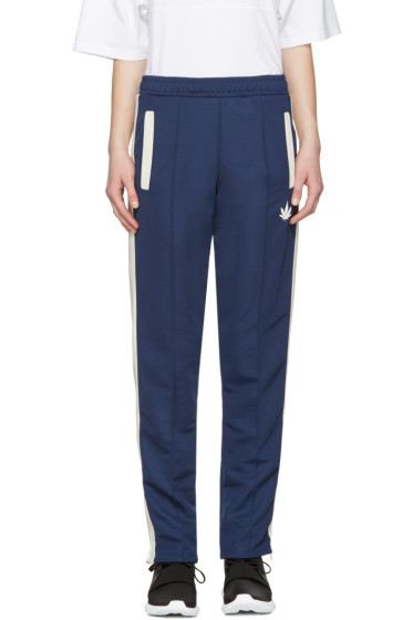 Palm Angels - Navy Weed Track Pants
