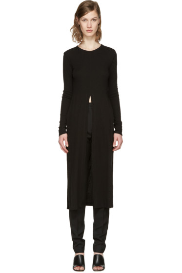 Rosetta Getty - Black Split T-Shirt