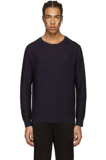 Wooyoungmi - Navy Wool Pullover