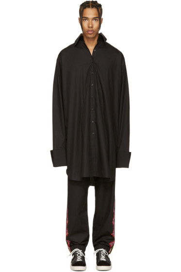 Marques Almeida - Black Oversized XXL Shirt