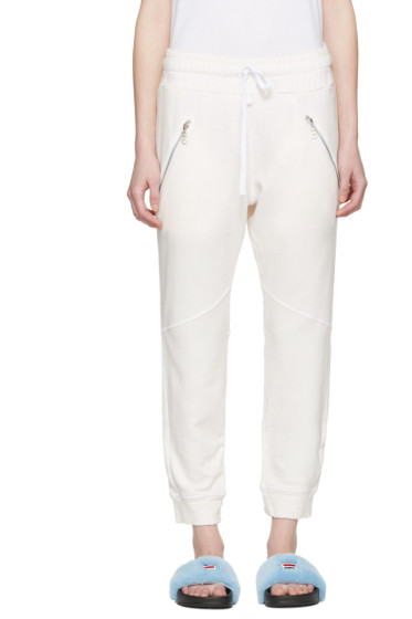 Baja East - Pink Zip Pockets Lounge Pants