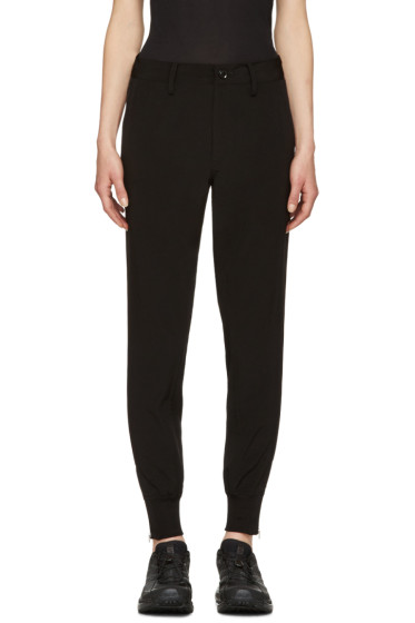 Y's - Black Slim Trousers