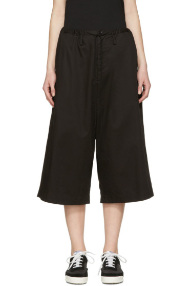 Y's - Black Sarouel Trousers