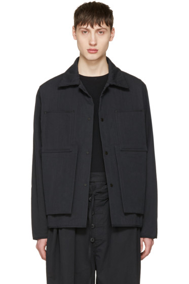 Craig Green - Black Quilted Workwear Jacket