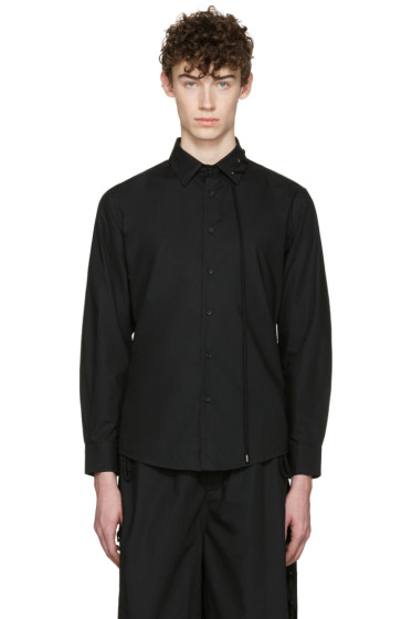 Craig Green - Black Cotton Laced Shirt