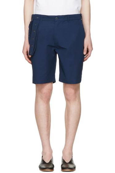 Craig Green - Navy Slim Shorts
