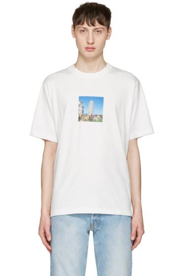 Sunnei - White Pisa Tower T-Shirt