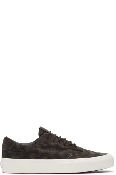 Vans - Brown Taka Hayashi Edition Camouflage Mountain Lace Lo LX Sneakers