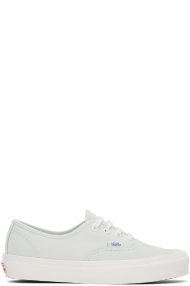 Vans - Green OG Authentic LX Sneakers
