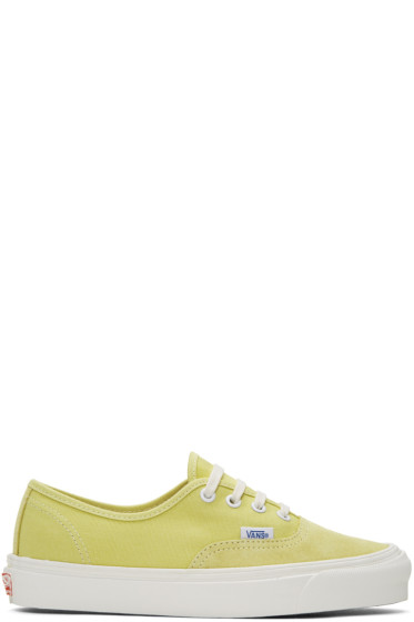 Vans - Yellow OG Authentic LX Sneakers