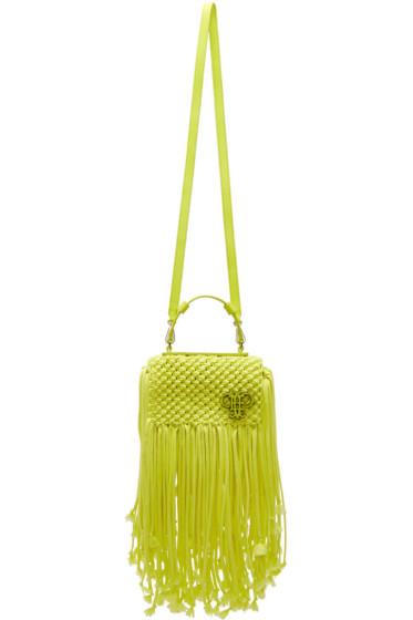 Emilio Pucci - Yellow Fringed Logo Bag