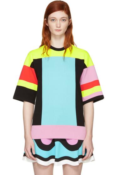Emilio Pucci - Multicolor Colorblock Pullover