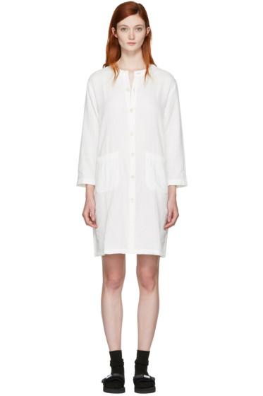 Blue Blue Japan - White Shirt Dress