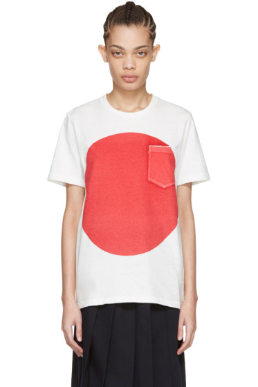 Blue Blue Japan - White Flag T-Shirt
