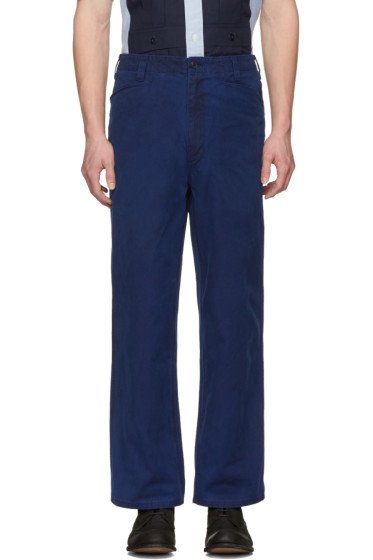Blue Blue Japan - Indigo Engineer Trousers