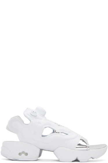 Reebok Classics - White InstaPump Fury Sandals