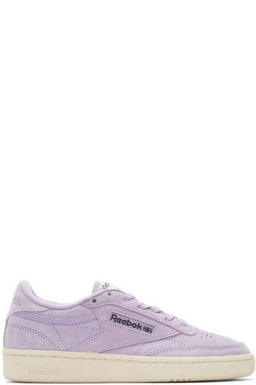 Reebok Classics - Purple Club C 85 Pastels Sneakers