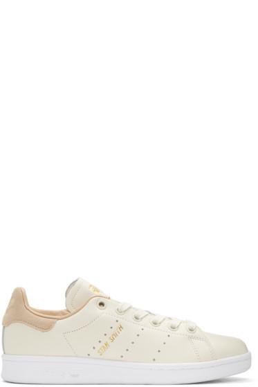 adidas Originals - Off-White Stan Smith Premium Sneakers