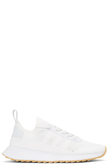 adidas Originals - White Flashback Sneakers