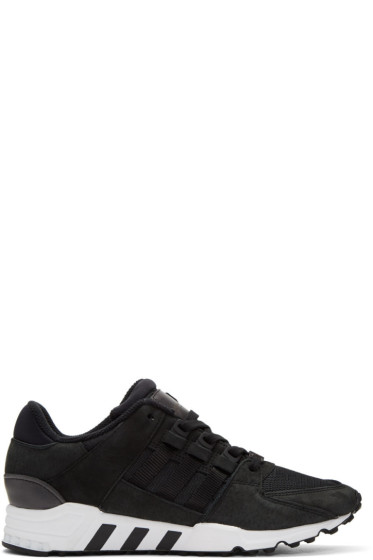 adidas Originals - Black Equipment Support RF Sneakers