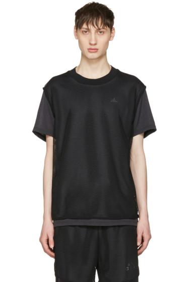 Adidas x Kolor - Black Climachill T-Shirt