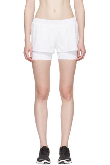 adidas by Stella McCartney - White Train Shorts
