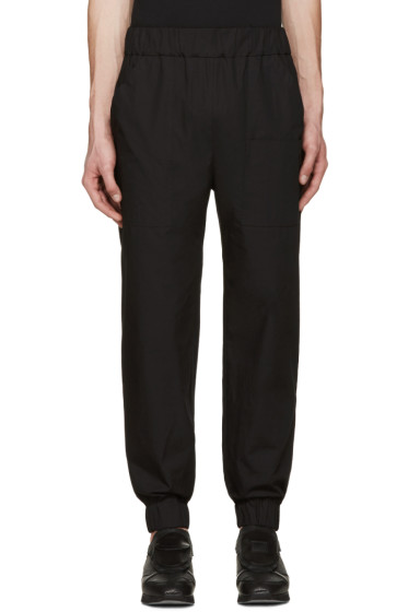Phoebe English - Black Patch Pocket Lounge Pants