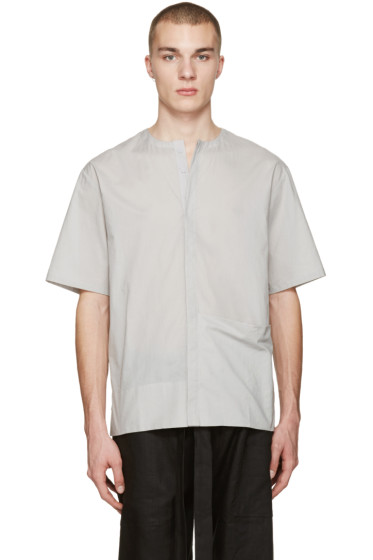 Phoebe English - Grey Poplin Shirt