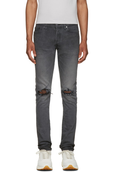 John Elliott - Black The Cast 2 Zinc Jeans