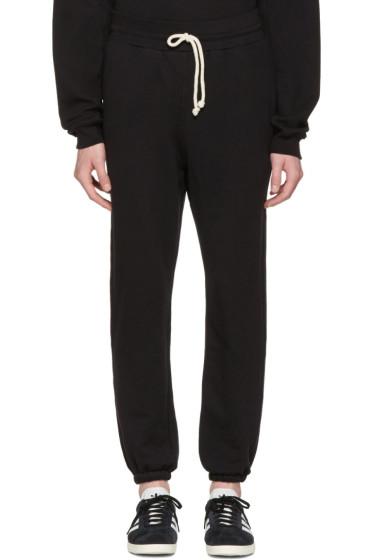 John Elliott - Black Oversized Lounge Pants