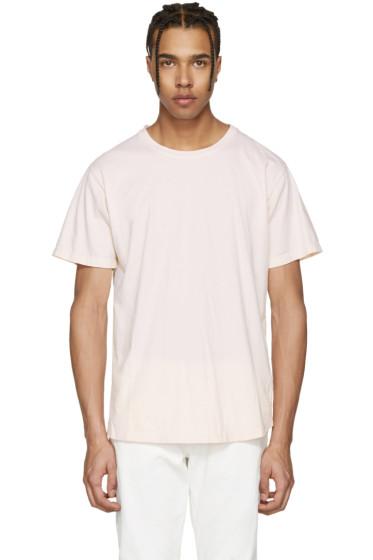 John Elliott - Pink Classic Curve T-Shirt