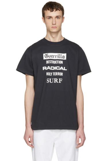 Noon Goons - Black 'Guerrilla' T-Shirt