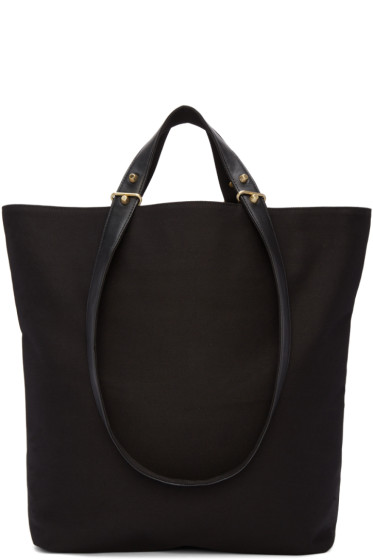 Haerfest - Black Canvas H6 Tote Bag