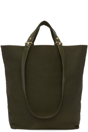 Haerfest -  Green Canvas H6 Tote Bag