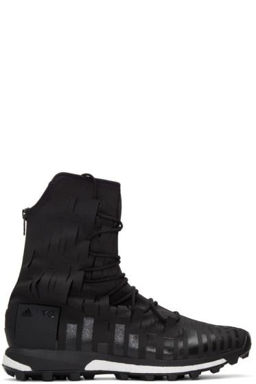 Y-3 SPORT - Black Evasion High-Top Sneakers