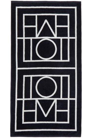 Totême - Navy Biarritz Beach Towel