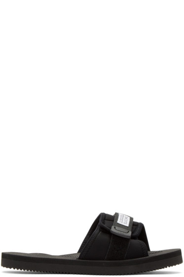 Suicoke - Black Padri Slide Sandals