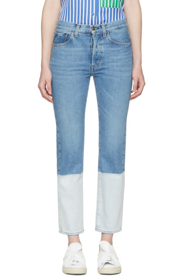 Ports 1961 - Blue Two-Tone Jeans